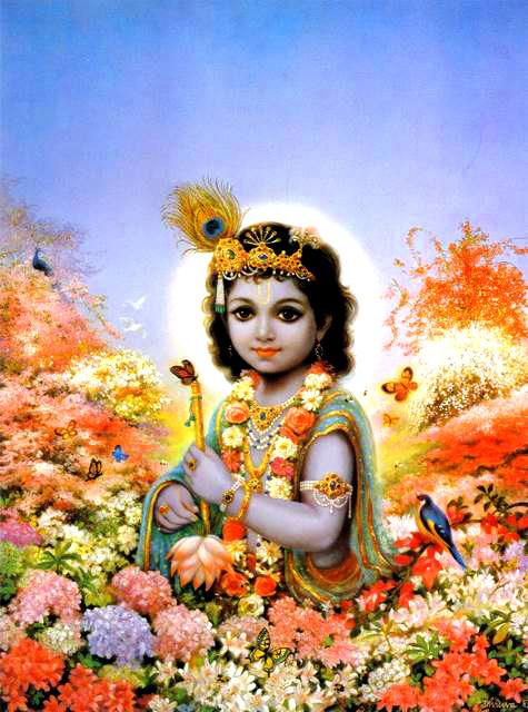 Шри Кришна — изначальная форма Бога