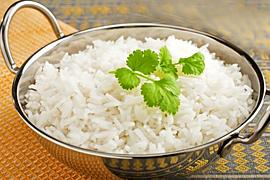 Как приготовить белый рис